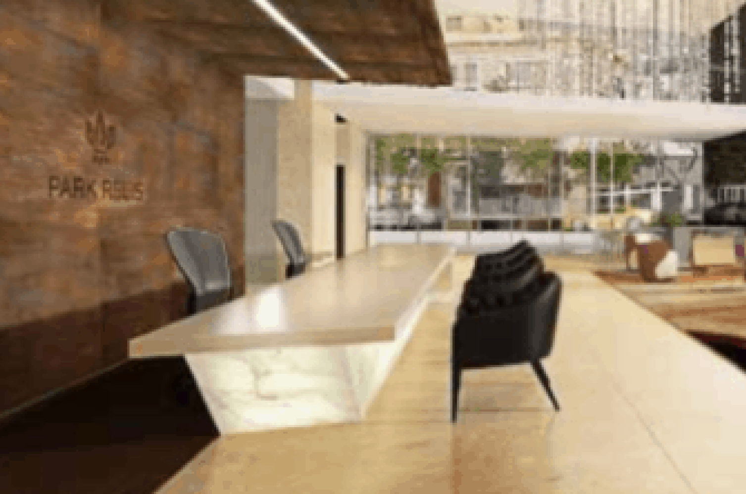Park Regis hotel in Sydney reception design drawing with foyer in the background