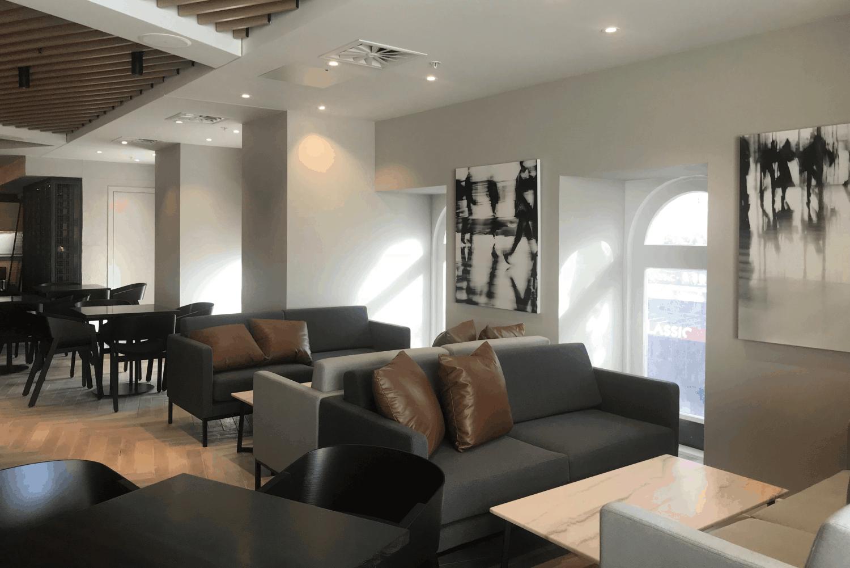 Sheraton Four Points hotel in Auckland restaurant design