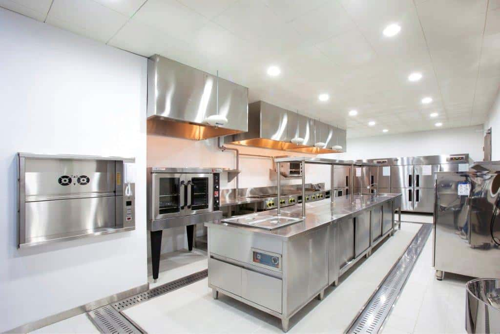Government residences public sector in Seoul industrial kitchen design